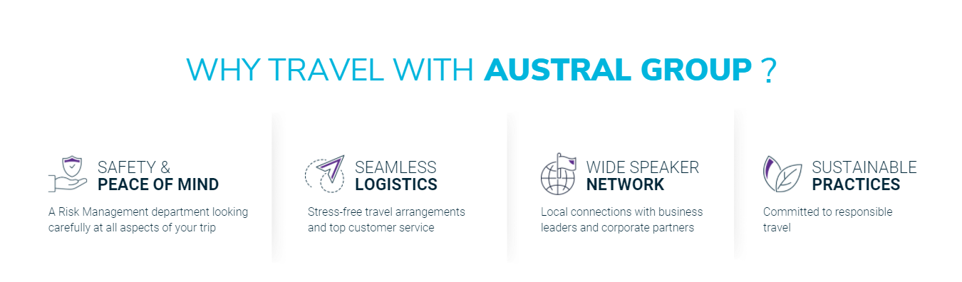 BANNER Why travel with Austral Group - clean